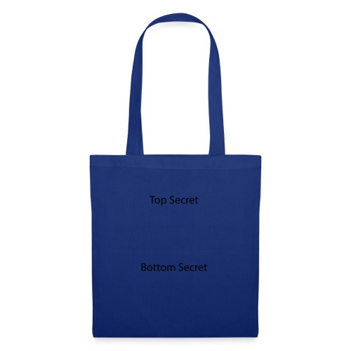 Top Secret / Bottom Secret - Tote Bag