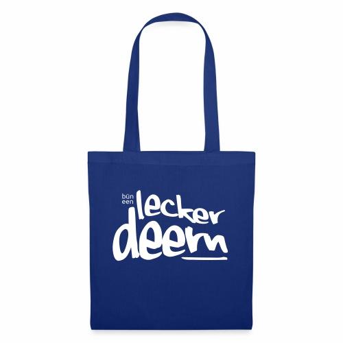 Lecker Deern - Stoffbeutel