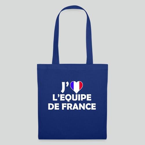 J'aime L'équipe de France (B) - Tote Bag