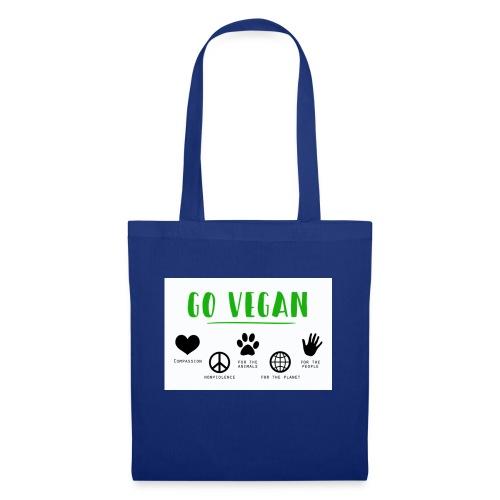 Go vegan - Tote Bag