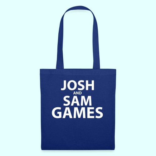 JoshandSamGames Stacked Text - Tote Bag