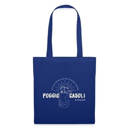Poggio Casoli_Istituzionale_Bianco - Borsa di stoffa