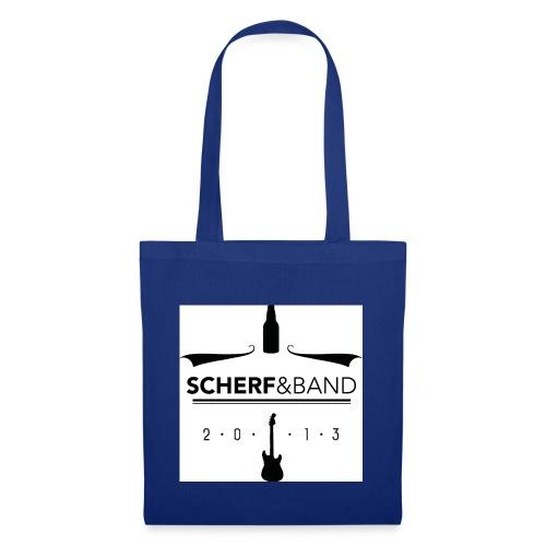 Scherf Sticker Logo sw1 jpg - Stoffbeutel