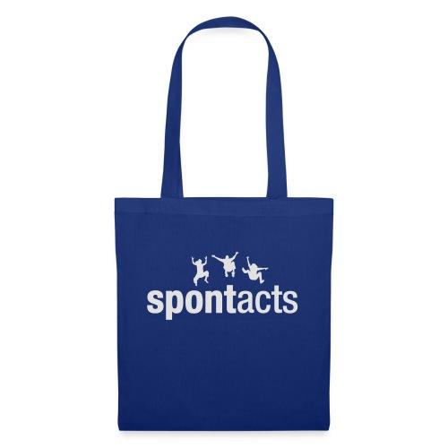 spontacts_Logo_weiss - Stoffbeutel