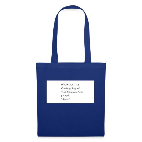 Car Joke - Tote Bag