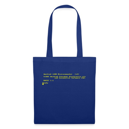 Amstrad CPC 6128 retro gaming and vintage computer - Tote Bag