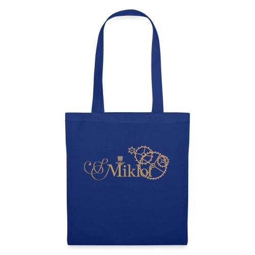 miklof logo gold outlined 3000px - Tote Bag