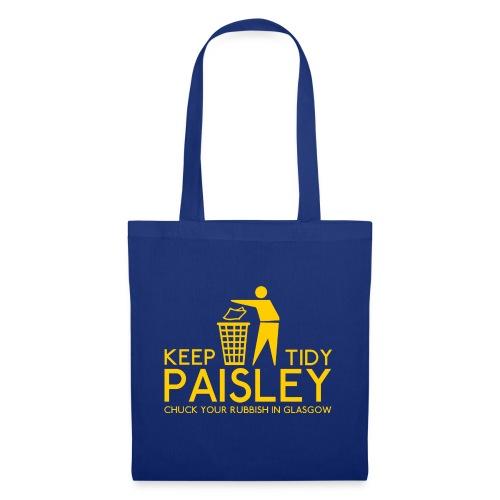 Keep Paisley Tidy - Tote Bag