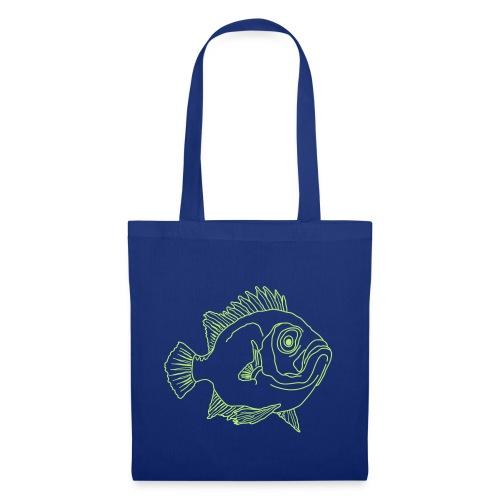 Fische Barsche Ozean Meerwasser Aquarium Angeln - Tote Bag
