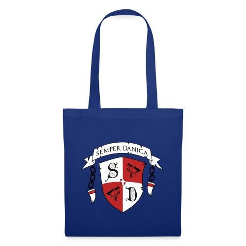 SD logo - sorte lænker - Mulepose