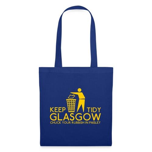 Keep Glasgow Tidy - Tote Bag