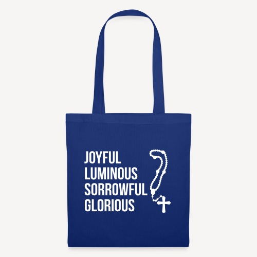 MYSTERIES OF THE ROSARY - Tote Bag