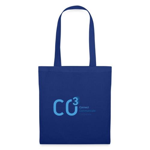 logo CO3 rgb 01 blue - Tote Bag