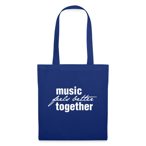Music feels better together - Stoffbeutel