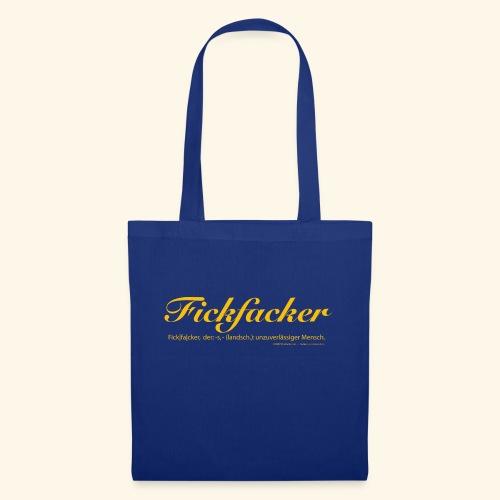 Fickfacker - Stoffbeutel