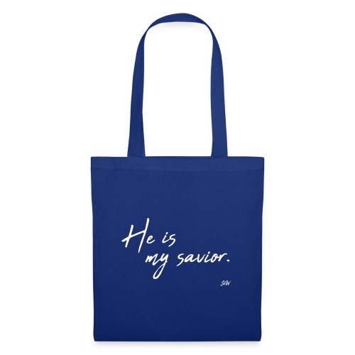He is my savior - Tote Bag