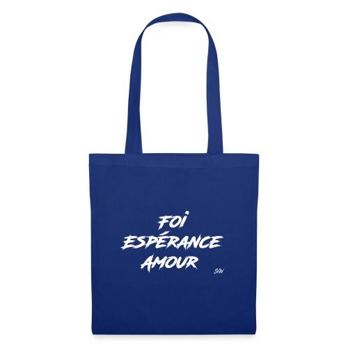 Foi Espérance Amour - Tote Bag