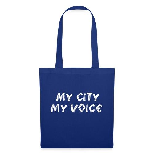 My City My Voice 1 white - Tote Bag