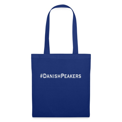 #DanishPeakers hvid tag - Mulepose