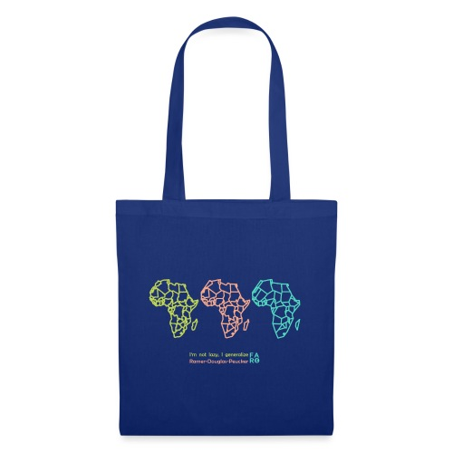 Ramer-Douglas-Peucker Algorithm -Africa - Tote Bag