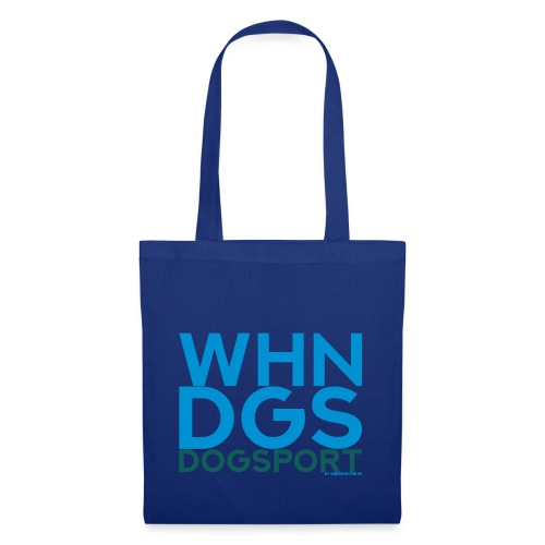 WHNDGS Hundesport Agility Geschenkidee Markenshirt - Stoffbeutel