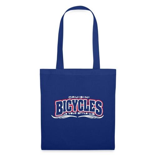 logo cruisin bicycles chris3 - Tote Bag