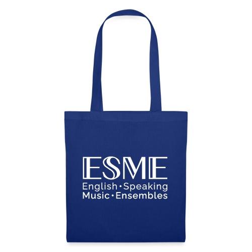 ESME Logo Weiss - Stoffbeutel