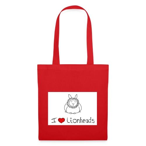 I Love Lionheads - Tote Bag