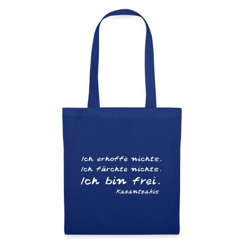 Kazantzakis - Ich bin frei! - Stoffbeutel