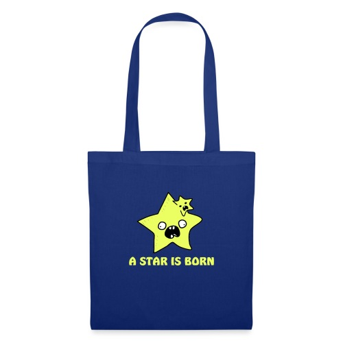 a star is born - Stoffbeutel