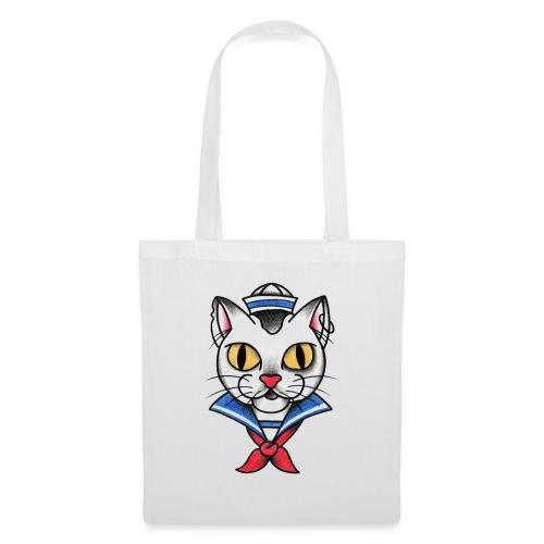 Sailorcat - Borsa di stoffa
