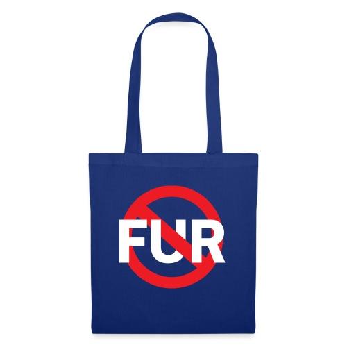 Fuck fur! White - Tygväska