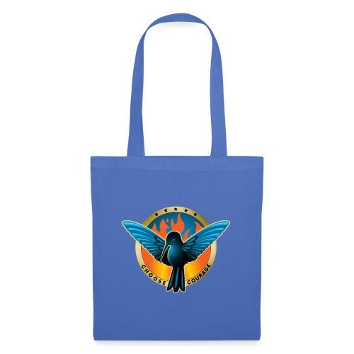 Choose Courage - Fireblue Rebels - Tote Bag