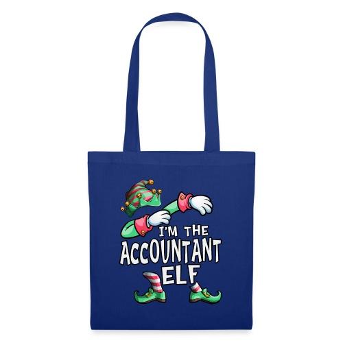 I'm The Accountant Elf Dabbing Christmas Family - Tote Bag