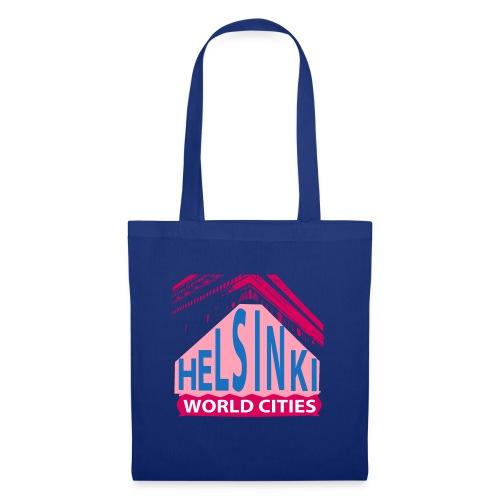 Helsinki2 pink blue - Tote Bag