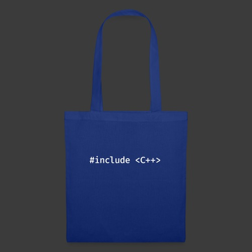 White Include Logo - Tote Bag