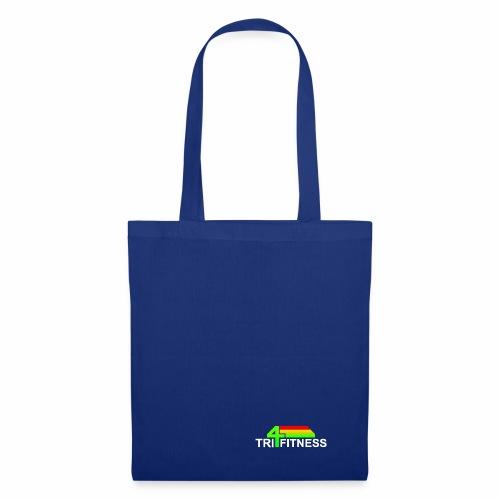 tri4fitnes logo | White text - Tote Bag