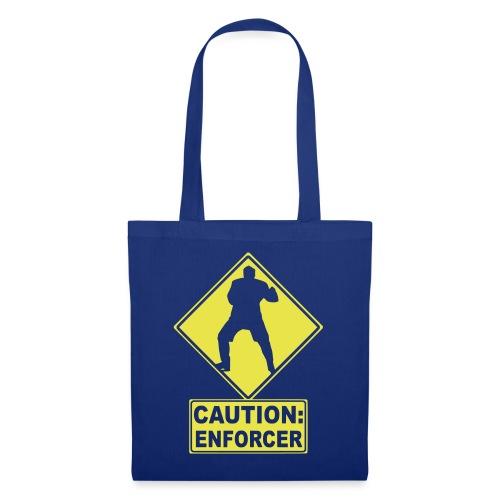 CAUTION: Hockey Enforcer - Tote Bag