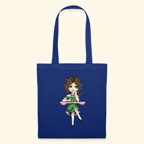 Green Lady - Tote Bag
