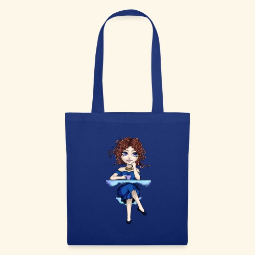 Blue Lady - Tote Bag