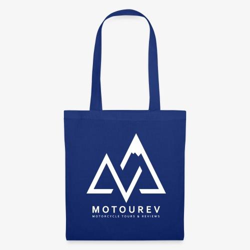 White MOTOUREV Small LOGO - Tote Bag