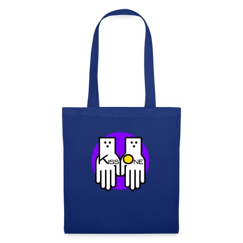 kiss one full color - Tote Bag
