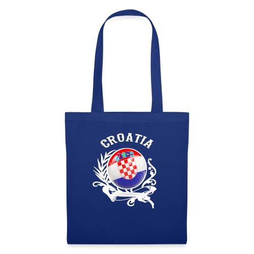 T SHIRT CROATIA Fußball-Europameisterschaft 2020 - - Stoffbeutel