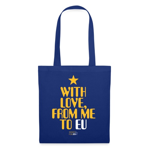 With Love, from me to EU   SongsFor.EU - Tote Bag
