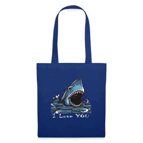 Der Hai, der Dich liebte - Stoffbeutel