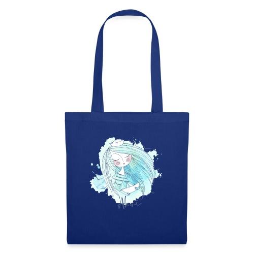 Meermädchen Ahoi - Stoffbeutel