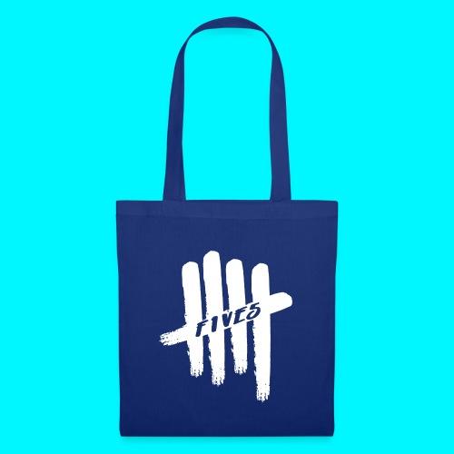 fives white 2 - Tote Bag