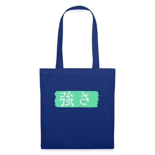 Kanji Giapponese - Forza - Borsa di stoffa