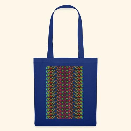 Symétre axiale triangles en miroir - Tote Bag