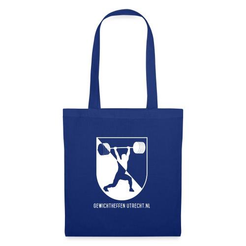 Gewichtheffen Utrecht Logo Trui - Tas van stof